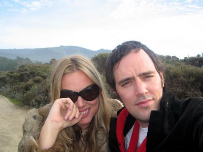Theresa Duncan, R.I.P., and boyfriend, video artist Jeremy Blake (Ditto)