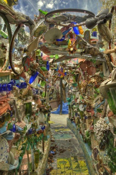 Isaiah Zagar's Magic Garden in Philly.