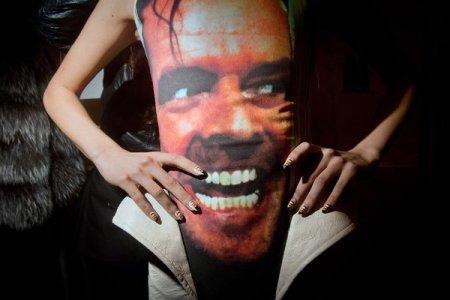 Jack Torrance dress at Fashion Week.