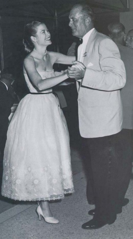 Grace dancing with John