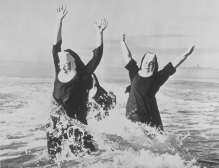 Nuns In The Surf